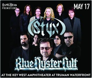 Styx and Blue Oyster Cult at Key West Amphitheater @ KEY WEST AMPHITHEATER