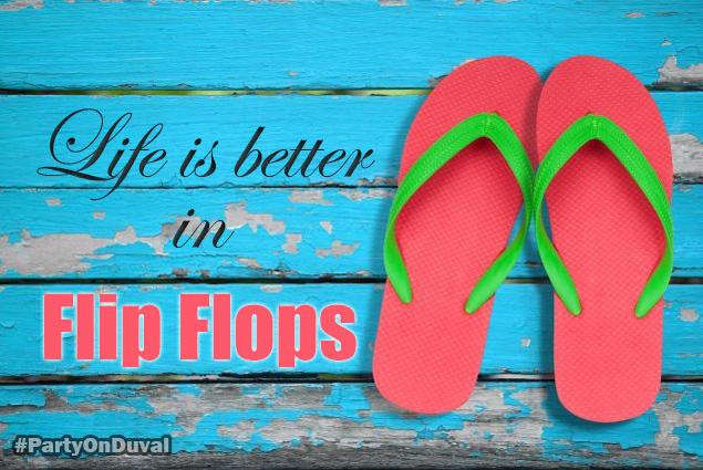 key west life is better in flip flops