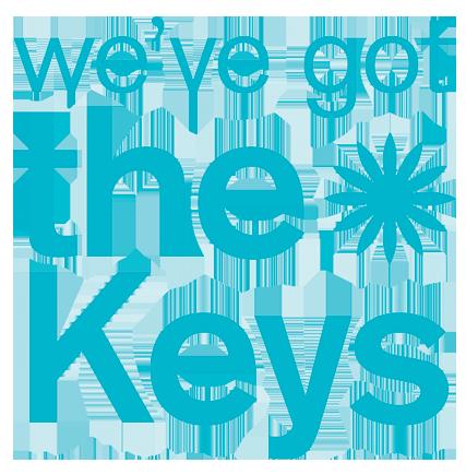 we've got the keys logo